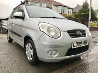 £30 PER YEAR ROAD TAX,2009 KIA PICANTO 1.0-5DOORS,68000 MILES,MOT MAY 2019,ONE LADY OWNER FROM NEW