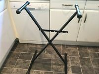 Adjustable keyboard stand