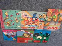 Various children's books including THOMAS the tank engine and Peppa pig and crayons art kit