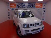 Suzuki Jimny SZ3 (STUNNING 4X4) FREE MOT'S AS LONG AS YOU OWN THE CAR!!! (white) 2011