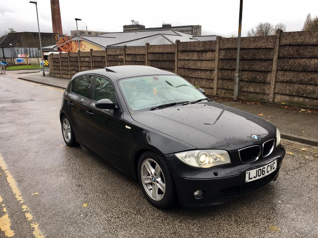 2006 BMW 118D SPORT 2.0 DIESEL TOP SPEC SUNROOF XENONS IMMACULATE CONDITION GREAT RUNNER !!