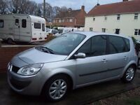 2007 Renault Scenic economical 1.5 (106 bhp) DCI Diesel 6 Speed Runs perfectly
