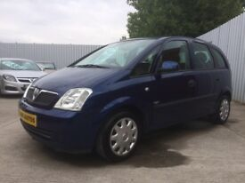 Vauxhall Meriva 1.4 Enjoy 5dr MPV - MOT AUGUST 2019 - Only 87,000 Miles - PX WELCOME