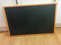 Large chalk board, advertising board, menu board, black board