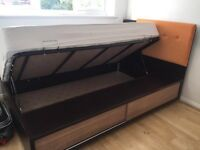 Single Bed with Storage and Desk