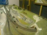 Professionally built N-Gauge model railway layout - sell or swap for a smaller layout