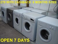 £79 Hotpoint washing machines 6 Month Gtee Birmingham GREAT BARR M6 JUNC 7 WEST MIDLANDS