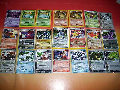 50 Pokemonkarten Sammlung Holo Level X Ex - boosterfrische Pokemon Karten TOP!