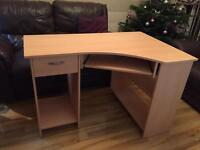 Corner computer desk for sale