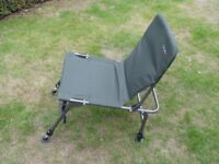 CHUB FOLDING and ADJUSTABLE LEGS FISHING CHAIR. EXCELLENT CONDITION