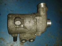 BMW ELECTRIC WATER PUMP AND THERMOSTAT HOUSING