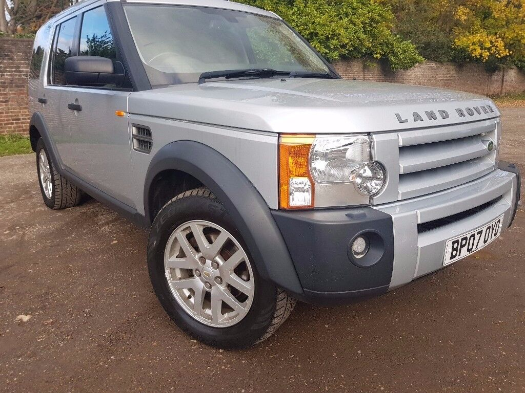 LANDROVER DISCOVERY 3 XS V6 TD DIESEL MANUAL, 7 SEATER, SERVICE HISTORY, SAT