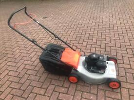 FLYMO QUICKSILVER PUSH PETROL LAWNMOWER SERVICED