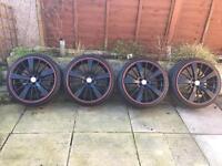 "Set Of Four 19"" 5x100 Inovit Rotar Alloy Wheels"