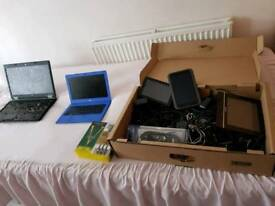 Tablets laptops chargers etc electronic