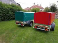 New Box trailer 6x4 with cover