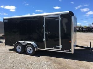 2015 Car Mate Trailers 7x16 Cargo Trailer 1 Left at This Price!!