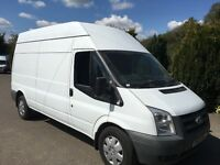 Ford transit 115t350 lwb hi top 2010 60 reg 137,000 miles long mot
