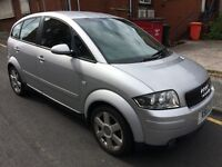 AUDI A2 SE 1.4 *nice little stylish car* good mpg not bmw private plate x becca (swap