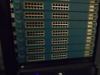 Cisco Catalyst 3550 Series Switch (7 Units; 20 each or 100 for all.)