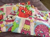 Shopkins single bedding