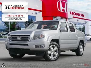 2014 Honda Ridgeline Touring | Accident Free | Fully Loaded