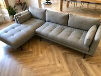Gorgeous Grey Sofa from Made .com