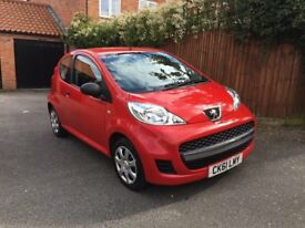 Peugeot 107 1.0 12v Urban Lite 3dr £20 Tax Lowest Insurance Group