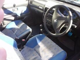 £300. 2002 Peugeot 106, 3door hatchback.