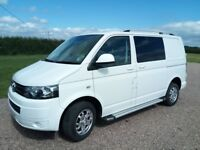 VW Transporter T5 - Partial conversion to day van, excellent condition LOW MILEAGE