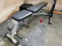GYM EQUIPMENT - ADJUSTABLE BENCH
