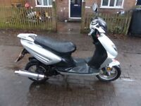 2012 49cc 4 stroke twist and go scooter moped FULL MOT