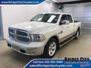 2016 Ram 1500 Longhorn- Leather, Heated/Vented Seats, Sunroof!