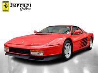 1990 Ferrari Testarossa - Like New Only 171 Miles