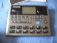ALESIS SR18 High Definition DRUM MACHINE. BRAND NEW STILL IN BOX with Documentation and Instructions