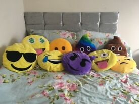 9 emoji pillows