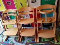3 x highchairs