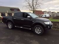 Mitsubishi L200 Warrior Double Cab Pick Up, Loadliner, Towbar