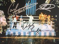 ROCKY IV CAST SIGNATURE ORIGINAL SIGNED PHOTO