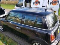 Mobile car valet window clening