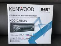 KENWOOD CD- RECEIVER WITH USB INTERFACE