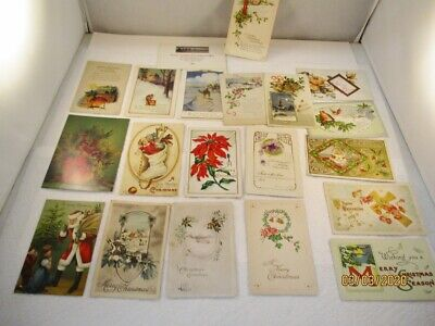 Vintage Postcards,  20 - CHRISTMAS,  Variety of Conditions #8 ()