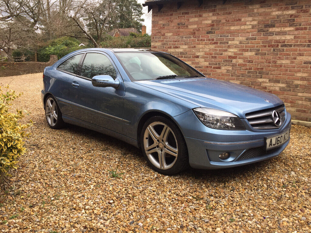Mercedes Clc 220 Cdi Sport 2011 Light Blue With Panoramic Roof