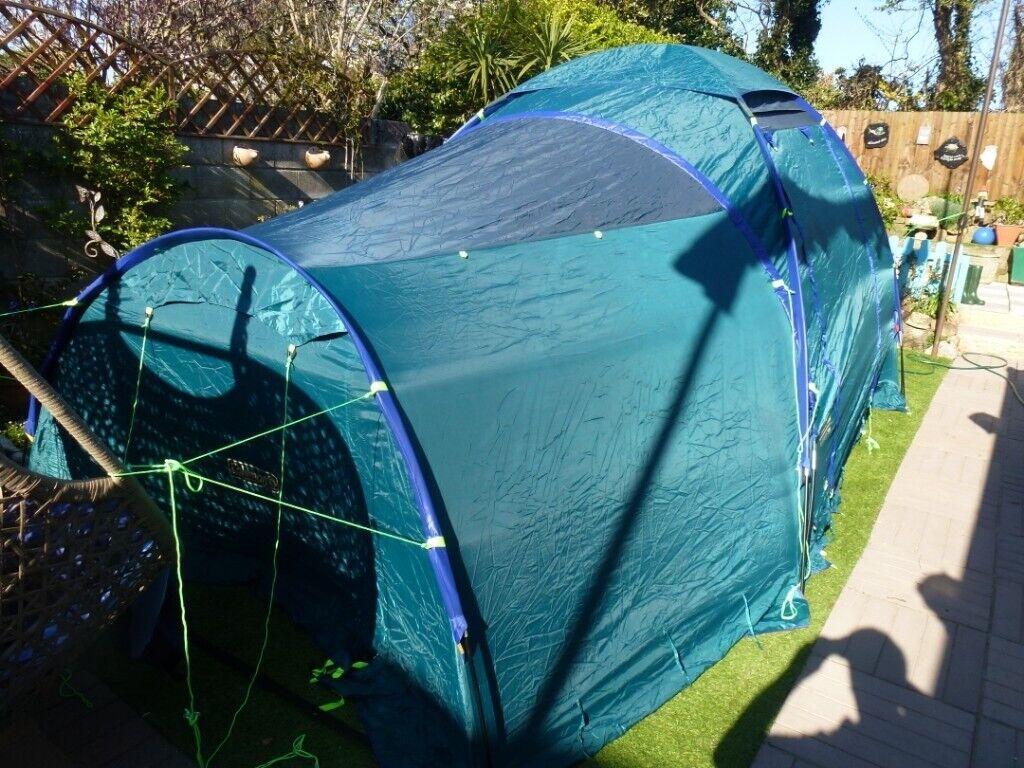 coleman bispace 700 family tent