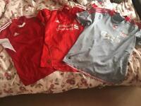 3 Football shirts