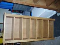 Wood CD unit