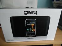 Gear 4 Street Party 4 Speakers with Bluetooth Adapter for any Device