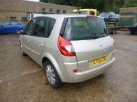 RENAULT SCENIC - EY08ZBT - DIRECT FROM INS CO