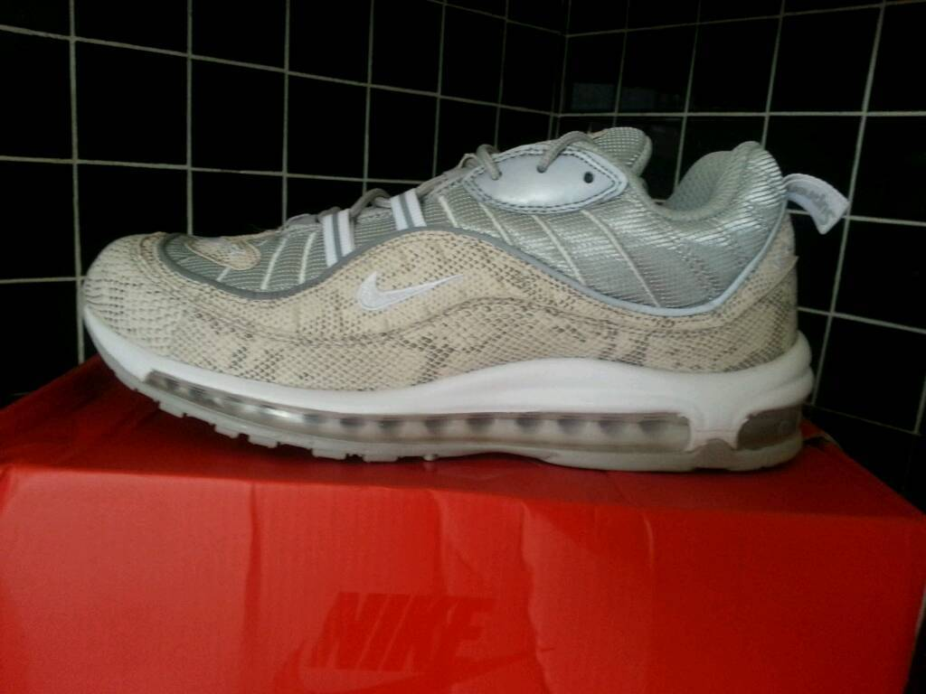 ypsbt Supreme X nike air max 98 snakeskin size 8.5 | in Liverpool
