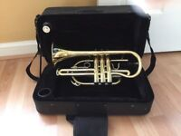 ** BRASS CORNET - IMMACULATE CONDITION **